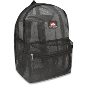 Mesh Backpacks 17 Inch- Black