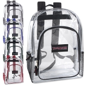17 Inch Classic Clear Backpack