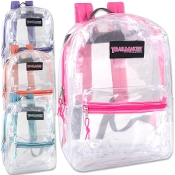 17 Inch Clear Classic Backpack